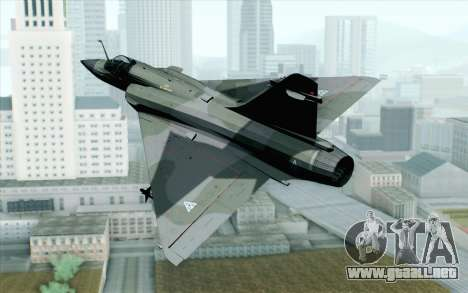 Dassault Mirage 2000 ISAF para GTA San Andreas left