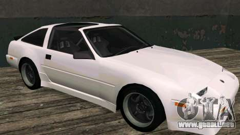 Nissan Fairlady Z 300ZX (Z31) para GTA San Andreas left