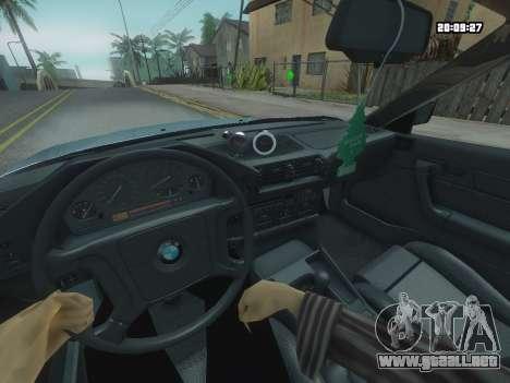 BMW 525 E34 Tune para la visión correcta GTA San Andreas