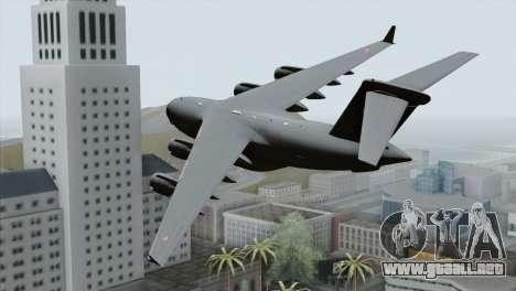 C-17A Globemaster III PAF para GTA San Andreas left