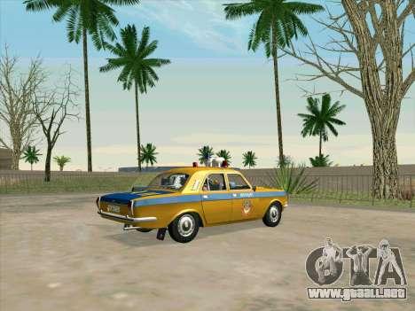 Volga 24-10 GAI para GTA San Andreas left