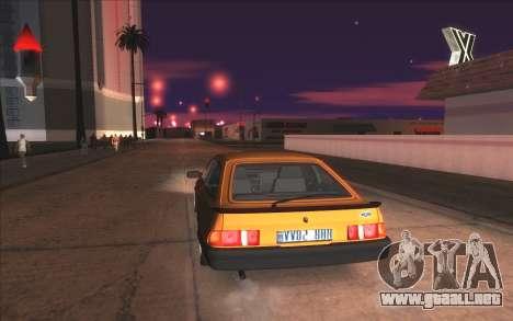 Agradable ColorMod para GTA San Andreas novena de pantalla