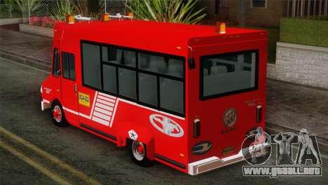 Dodge 300 Microbus para GTA San Andreas left