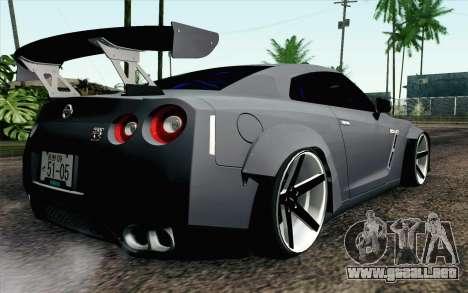 Nissan GT-R 2014 RocketBunny para GTA San Andreas left