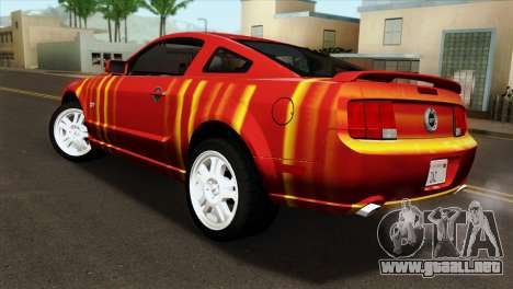 Ford Mustang GT PJ para GTA San Andreas left