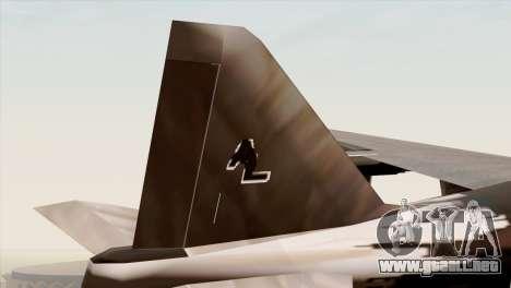 Hydra Eagle para GTA San Andreas vista posterior izquierda