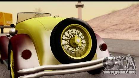 Ford A 1928 para la visión correcta GTA San Andreas