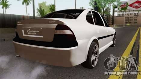 Opel Vectra 2.2 Stock para GTA San Andreas left