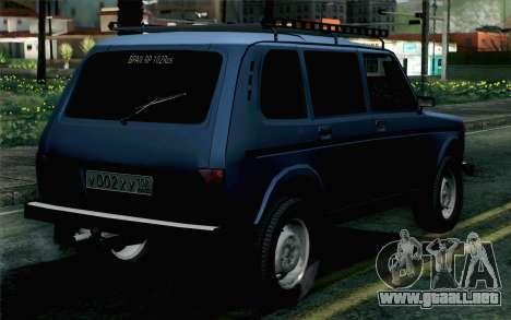VAZ 2131 Niva 5D para GTA San Andreas left