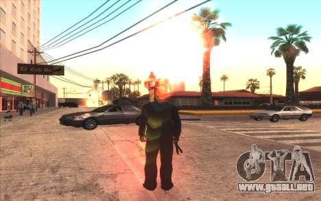 Agradable ColorMod para GTA San Andreas segunda pantalla
