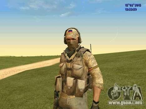 La policía de la milicia de Donbass para GTA San Andreas