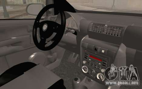 Volkswagen Fox para la visión correcta GTA San Andreas