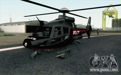 NFS HP 2010 Police Helicopter LVL 3 para GTA San Andreas