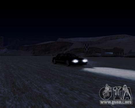 LineFlex ENBseries para GTA San Andreas sucesivamente de pantalla