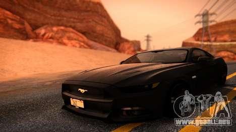 ENBG 2.0 para GTA San Andreas tercera pantalla