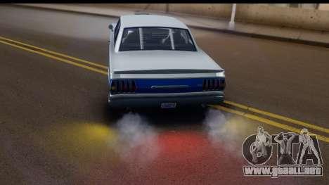 GTA 5 Vapid Blade v2 IVF para visión interna GTA San Andreas