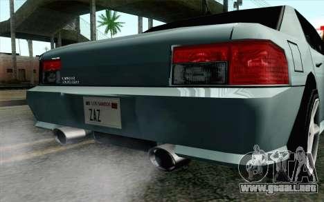 Sultan Lan Evo para la visión correcta GTA San Andreas
