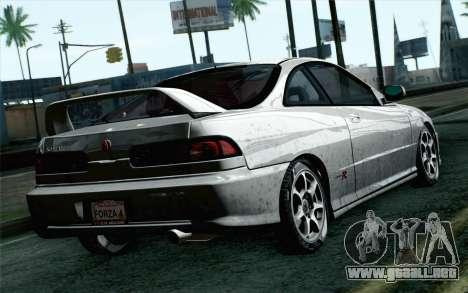 Acura Integra Type R 2001 Stock para GTA San Andreas left