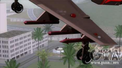 Shuttle v1 (wheels) para la visión correcta GTA San Andreas