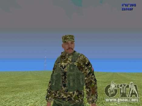 Soldado del batallón de Somalia para GTA San Andreas