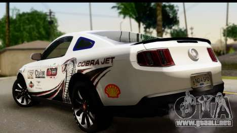 Ford Mustang 2010 Cobra Jet para GTA San Andreas left