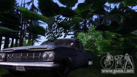 ENB Gamerealfornia v1.00 para GTA San Andreas sucesivamente de pantalla