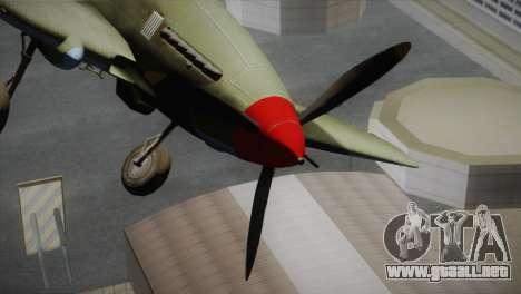 ИЛ-10 de la Fuerza Aérea de Estados unidos para la visión correcta GTA San Andreas