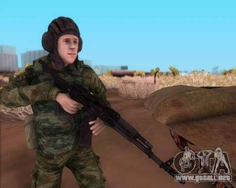 El Kalashnikov AK-74M para GTA San Andreas