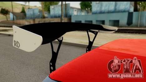 Drift Elegy Edition para GTA San Andreas vista hacia atrás
