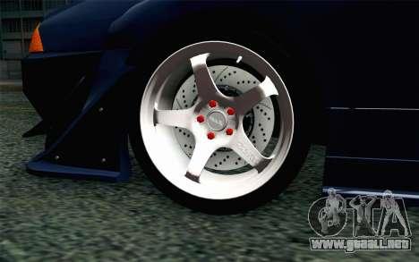 Elegy GP Sports G-SONIC EVO Kit para GTA San Andreas vista posterior izquierda