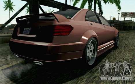 GTA 5 Benefactor Schafter SA Mobile para GTA San Andreas left