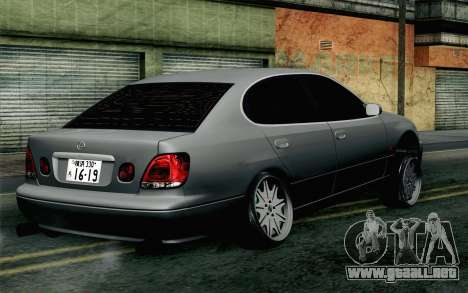Lexus GS 300 para GTA San Andreas left