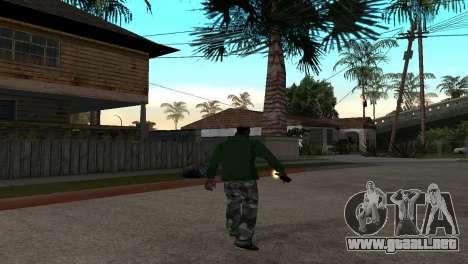 El Nuevo Cóctel Molotov para GTA San Andreas tercera pantalla