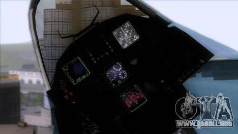 YF-23 JASDF para la visión correcta GTA San Andreas