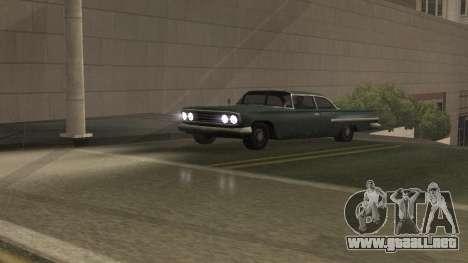 Carretera Reflexiones Fix 1.0 для GTA San Andrea para GTA San Andreas sucesivamente de pantalla