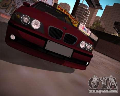 BMW 5-series E39 Vossen para la visión correcta GTA San Andreas