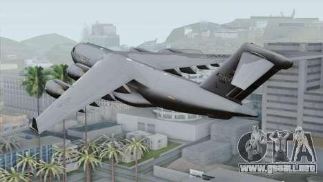 C-17A Globemaster III USAF Mississippi para GTA San Andreas left