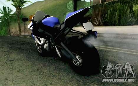 BMW S1000RR HP4 v2 Blue para GTA San Andreas left