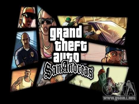 Menú HD para GTA San Andreas