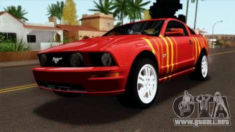 Ford Mustang GT PJ para GTA San Andreas