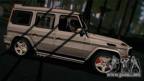 Mercedes-Benz G65 2013 Hamann Body para la visión correcta GTA San Andreas