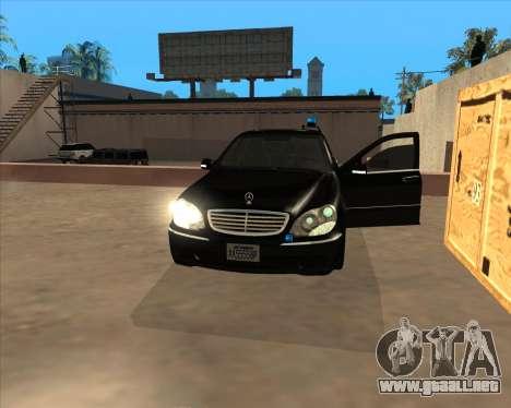 Las luces estroboscópicas v3 para GTA San Andreas