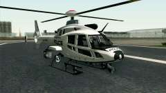 NFS HP 2010 Police Helicopter LVL 1 para GTA San Andreas