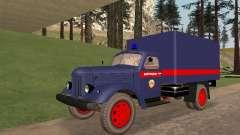 ZIL 157 de la policía