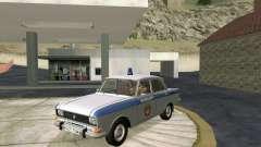 Moskvich 2140 Policía