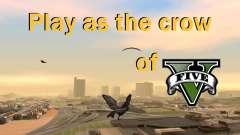 La posibilidad de GTA V para jugar a los pájaros V. 1 para GTA San Andreas