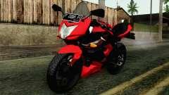 Kawasaki Ninja 250RR Mono Red para GTA San Andreas