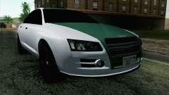 GTA 5 Obey Tailgater v2 IVF para GTA San Andreas