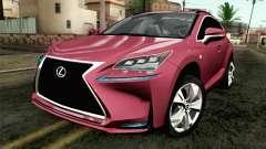 Lexus NX 200T v3 para GTA San Andreas