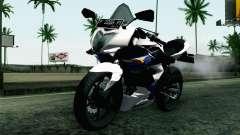 Kawasaki Ninja 250RR Mono White para GTA San Andreas